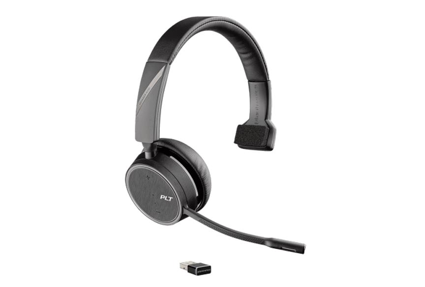 Plantronics Voyager B4210 USB-A - Monaural Headset with Dongle