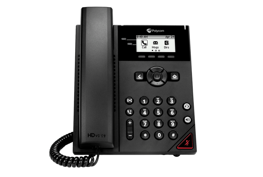Polycom VVX 150 2-Line Desktop Business IP Phone