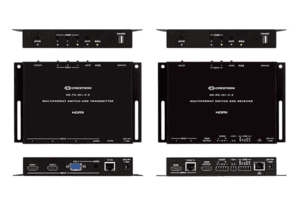 Crestron DM Lite – HD Scaling Auto-Switcher & HDMI® over CATx Extender 400 Kit